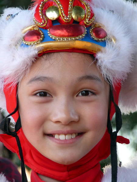 Photograph - Smiling Asian Girl by Jeff Lowe