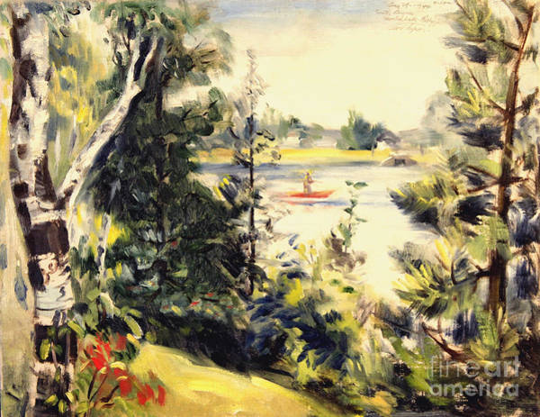 Painting - Smith Bayou - Spring Lake Michigan  1944 by Art By Tolpo Collection