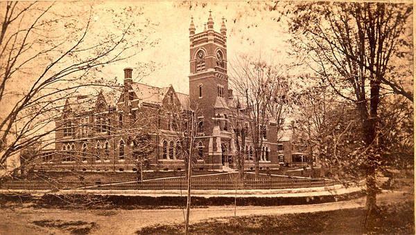 Wall Art - Photograph - Vintage Smith College  by Georgia Fowler