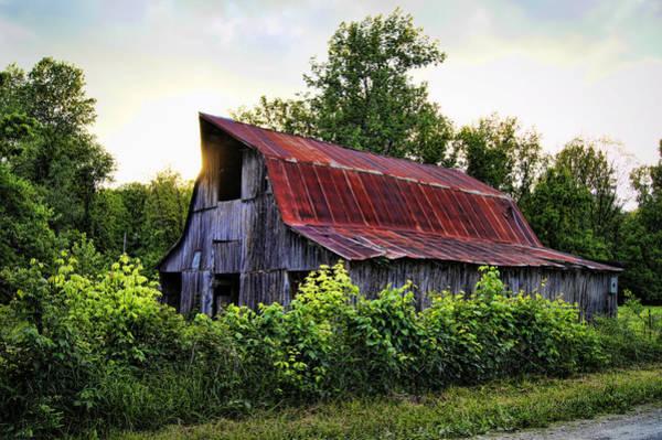 Photograph - Smith Hatchery Road Barn by Cricket Hackmann