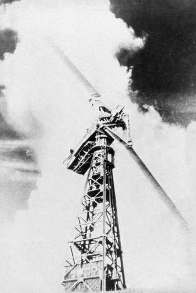 Rutland Photograph - Smith-putnam Wind Turbine, 1941 by Science Photo Library