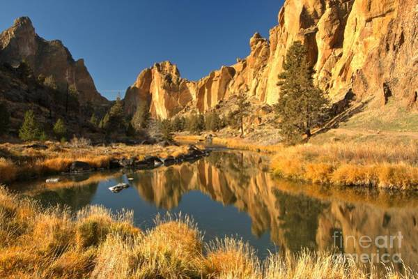 Photograph - Smith Rock Canyon Reflections by Adam Jewell