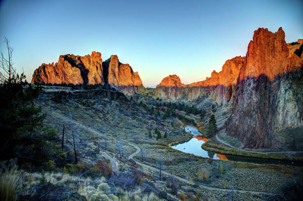 The Past Photograph - Smith Rock, Oregon - Morning Glory by Image By Nonac digi For The Green Man