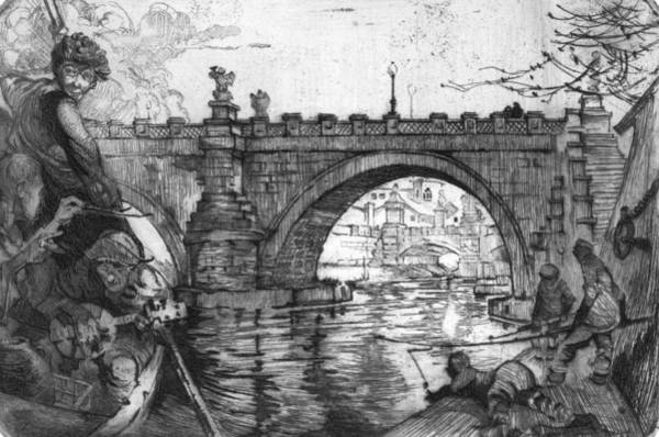 Wall Art - Painting - Smith The Bridge, 1922 by Granger