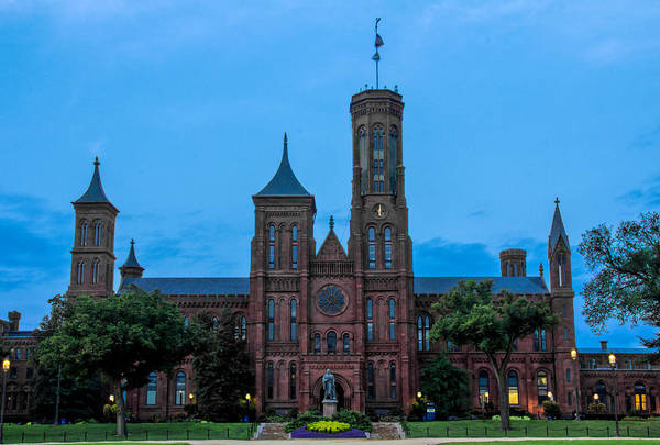 Photograph - Smithsonian Castle by Jemmy Archer