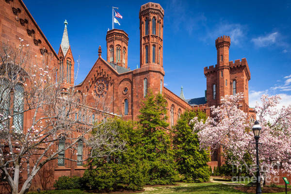 Smithsonian Photograph - Smithsonian Castle Wall by Inge Johnsson
