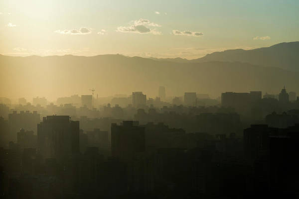 Keith Urban Wall Art - Photograph - Smog Over The City Of Beijing by Keith Levit / Design Pics