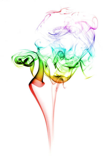 Wall Art - Photograph - Smoke And Colours by Samuel Whitton