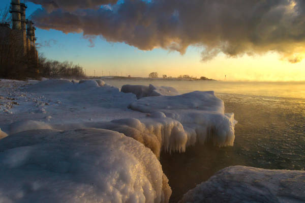 Photograph - Smoke And Ice by James  Meyer