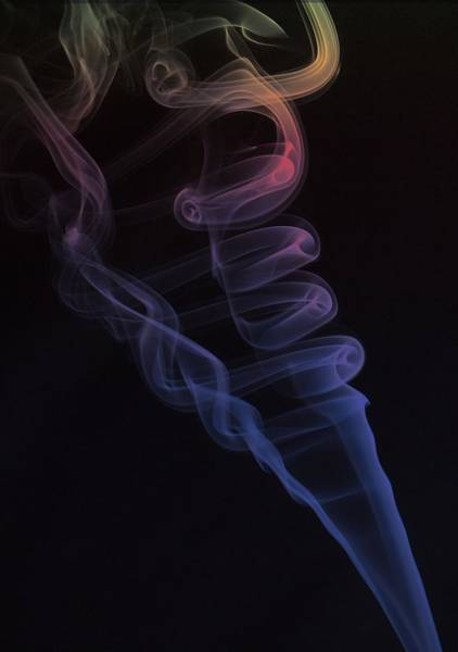 Photograph - Smoke by HW Kateley