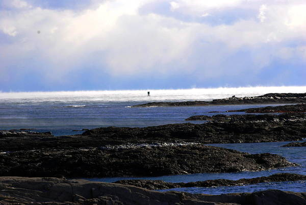 Bailey's Beach Photograph - Smoke On The Water by Spindrift Photography