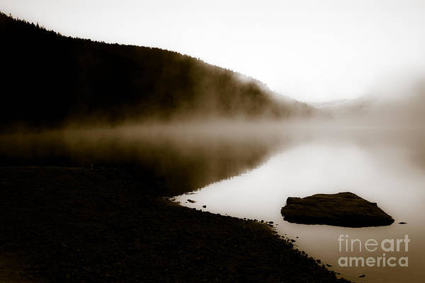 Smoke On Turquoise Lake Colorado Art Print