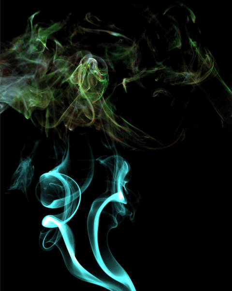 Wall Art - Photograph - Smoke Photoart2 by Cecil Fuselier