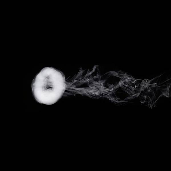 Wall Art - Photograph - Smoke Ring by Science Photo Library
