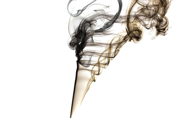 Smoke Trails Art Print