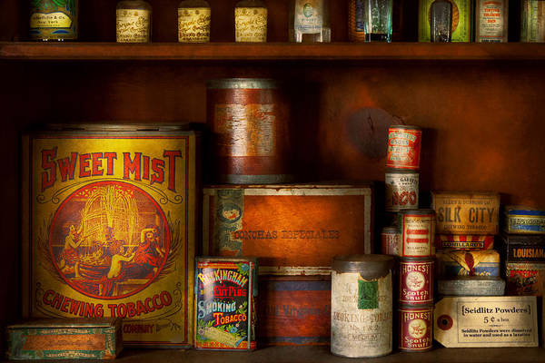Photograph - Smoker - Tobacco Snuff And Stuff by Mike Savad