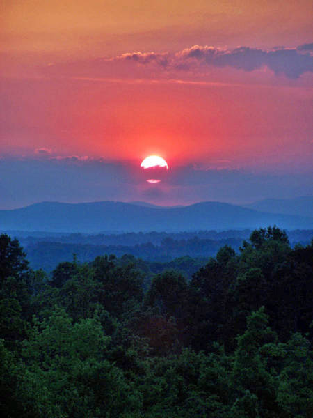 Photograph - Smokey Mtn Sunset by Jennifer Robin