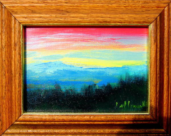 Painting - Smokies by Les Leffingwell
