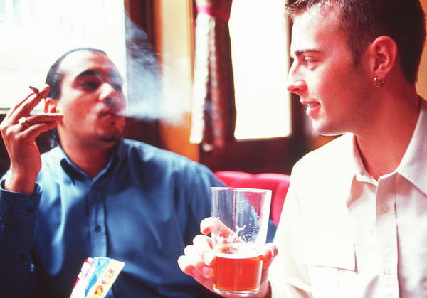 Wall Art - Photograph - Smoking And Drinking by Annabella Bluesky/science Photo Library