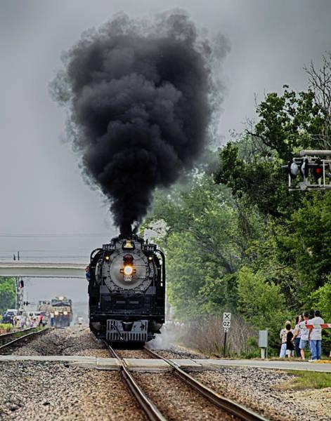 Photograph - Smoking Locomotive by Charles McKelroy