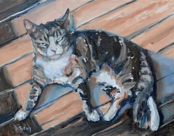 Painting - Smoky by Donna Tuten