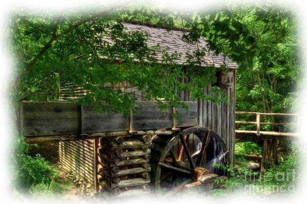 Photograph - Smoky Mountain Mill by Mel Steinhauer