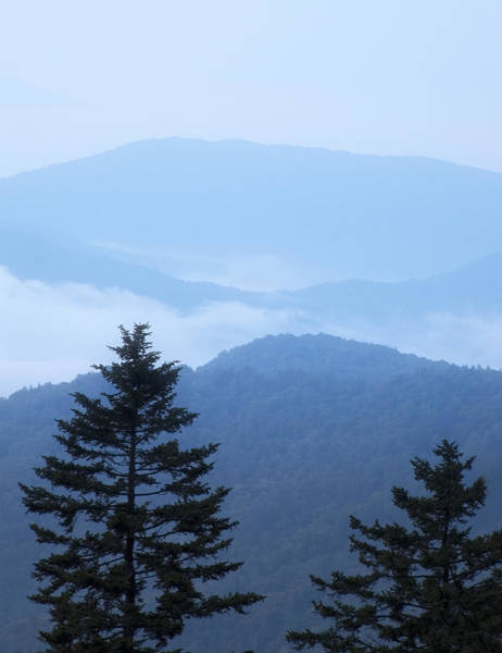 Photograph - Smoky Mountain Overlook by Andy Crawford