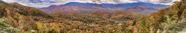 Photograph - Smoky Mountain Overlook by Heather Applegate