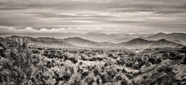 Photograph - Smoky Mountain Panorama by Heather Applegate