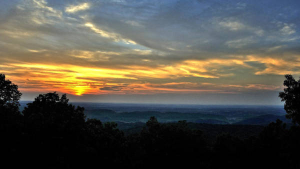 Photograph - Smoky Mountain Sunset 2 by George Taylor