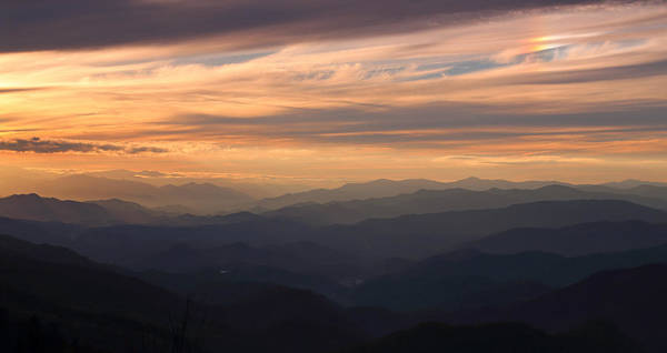 Photograph - Smoky Mountain Sunset by Jean Clark