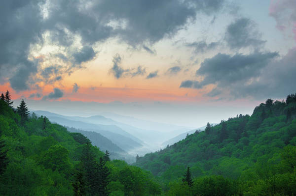 Southern Usa Photograph - Smoky Mountains In May by Www.igorlaptev.com
