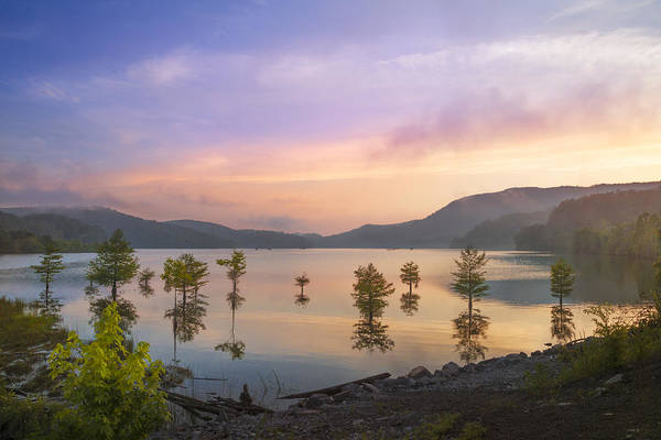 Ocoee Wall Art - Photograph - Smoky Sunset by Debra and Dave Vanderlaan