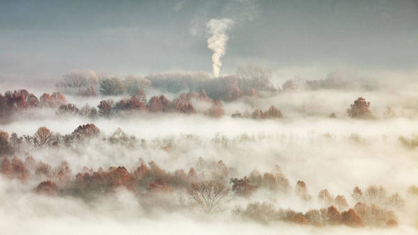 Wall Art - Photograph - Smooking In The Misty Valley by Fiorenzo Carozzi