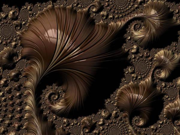 Digital Art - Smooth Contours by Amanda Moore
