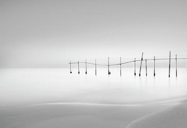 Horizons Photograph - Smooth by Farshad Boroomand
