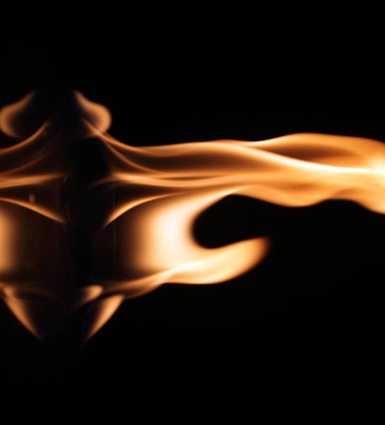 Flammable Wall Art - Photograph - Smooth Heat by Kevin Baker