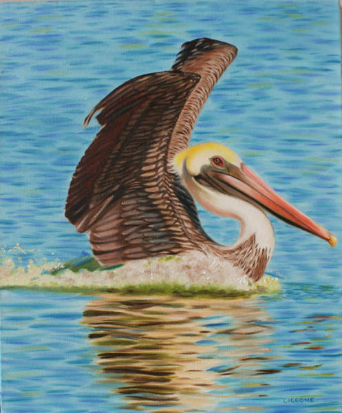 Painting - Smooth Landing  by Jill Ciccone Pike