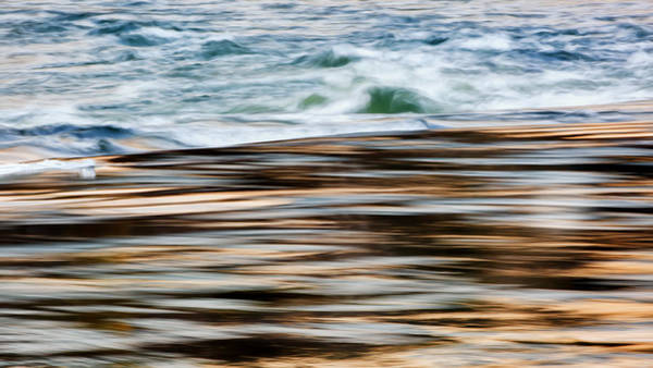 Photograph - Smooth Water Rapids by Bill Wakeley