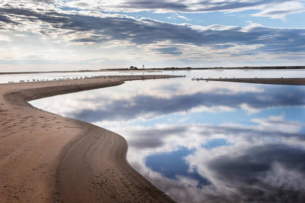 Provincetown Ma Wall Art - Photograph - Smooth Water Reflections by Bill Wakeley