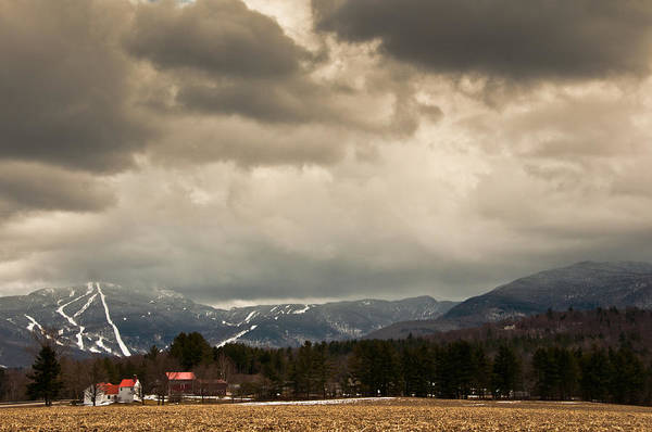 Smugglers Notch Photograph - Smuggs Storm by Scott Hafer