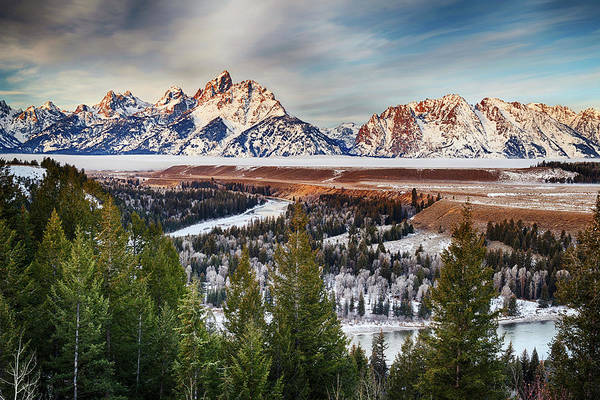 Snake Photograph - Snake River Overlook by Chen Su