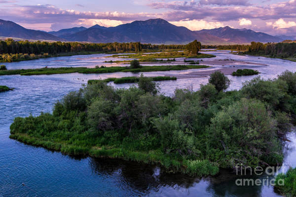 Swan Valley Photograph - Snake River Sunset - Swan Valley - Idaho by Gary Whitton
