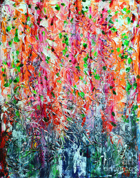 Snapdragons Painting - Snapdragons II by Alys Caviness-Gober