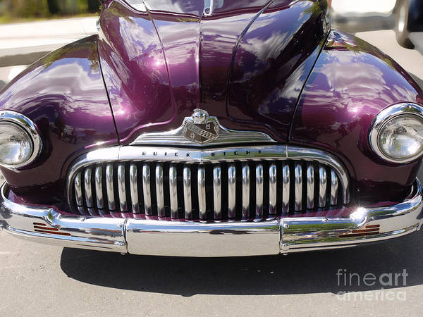 Photograph - Snarling Buick Eight by Brenda Kean