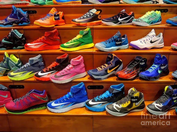 Photograph - Sneakers by Jeff Breiman