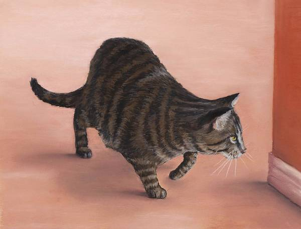 Painting - Sneaky by Anastasiya Malakhova