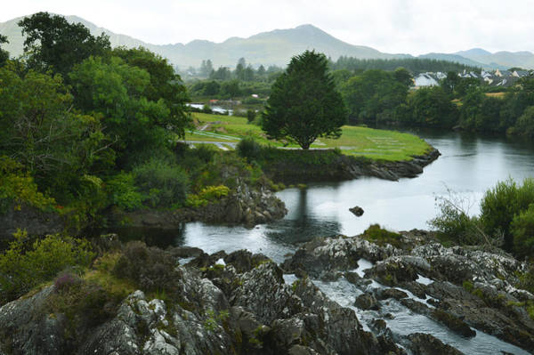 Wall Art - Photograph - Sneem Co Kerry. by Terence Davis