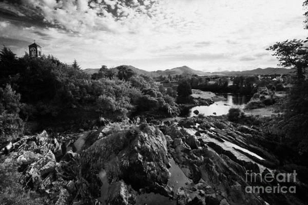 Gaelic Photograph - Sneem River On The Iveragh Peninsula Ring Of Kerry Ireland by Joe Fox