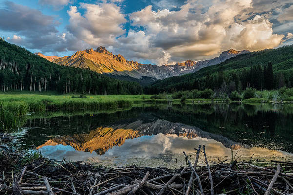Wall Art - Photograph - Sneffels Range Mirrored by Guy Schmickle